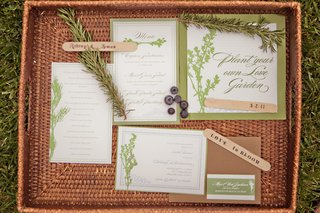 shower-stationery-with-rosemary-and-blueberries