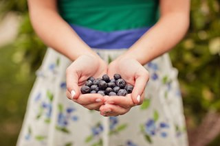 guest-holds-fresh-blueberries-in-hand