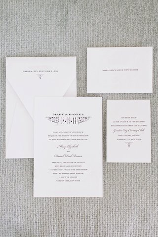 wedding-invitation-suite-on-white-paper-with-black-print