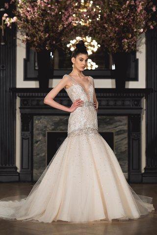 ines-di-santo-spring-2019-bridal-collection-wedding-dress-raquel-illusion-v-neck-trumpet-mermaid