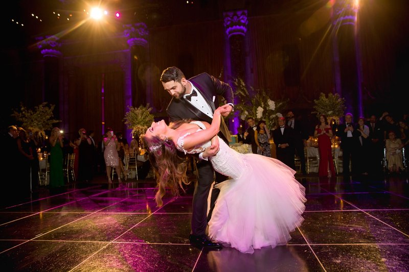 Dramatic First Dance in New York