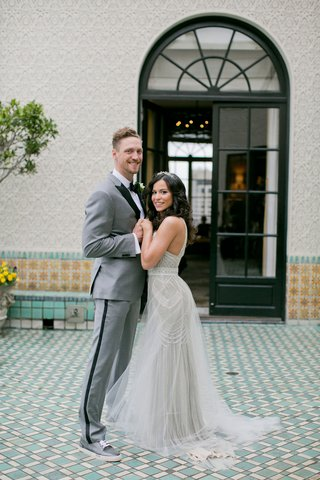 hunter-pence-and-lets-get-lexi-on-their-wedding-day-seen-in-the-summer-2017-issue-of-inside-weddi