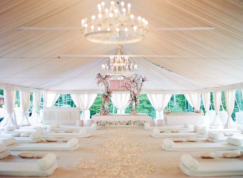 Cultural Wedding Ceremony Under Tent