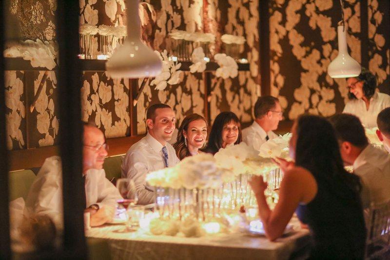 Small Intimate, Touching Wedding Reception