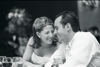 black-and-white-photo-of-couple-at-reception