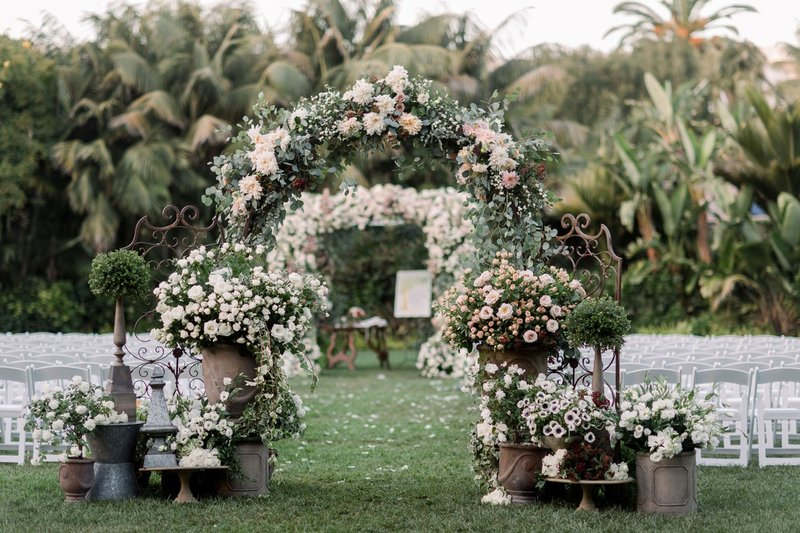 Floral Arch & Ceremony Gates