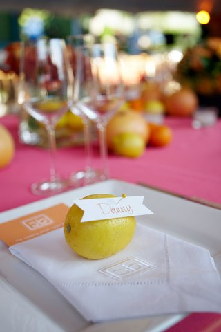 fresh-fruit-lemon-with-banner-place-card-and-pin