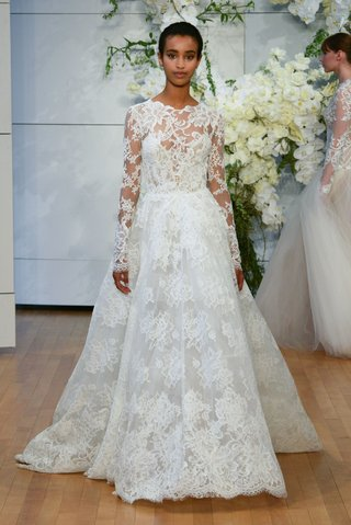 monique-lhuillier-spring-2018-bridal-collection-wedding-dress-long-sleeve-sistine-gown-a-line-lace