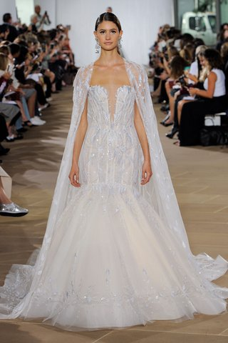 ines-di-santo-fall-2019-bridal-collection-wedding-dress-nieva-plunging-neckline-trumpet-gown-beading