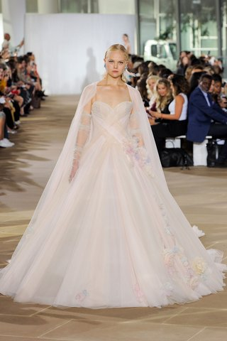 ines-di-santo-fall-2019-bridal-collection-wedding-dress-lorelei-pastel-tulle-ball-gown-3d-florals