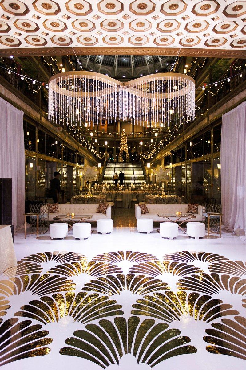 A Charming Fete Art Deco Dance Floor