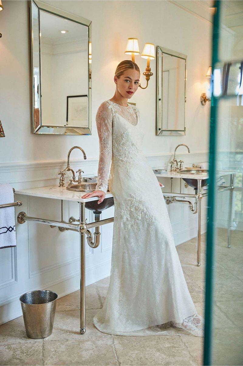 """Cosette"" Vintage-Inspired Wedding Dress"