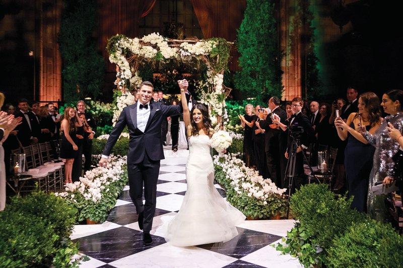 New York Wedding Ceremony Recessional