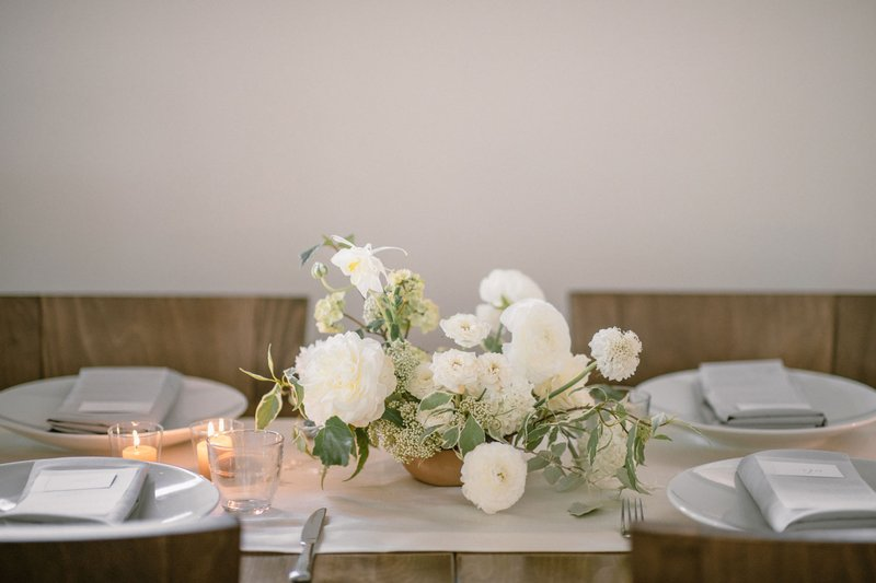 Neutral Table Décor