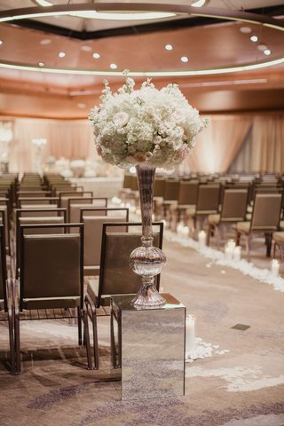 wedding-ceremony-entrance-persian-wedding-ceremony-mirror-riser-tall-vase-with-white-flowers