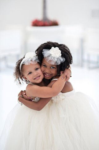 african-american-children-in-ivory-dresses