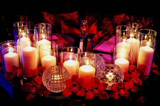 crystal-votive-candle-holders-and-orchids