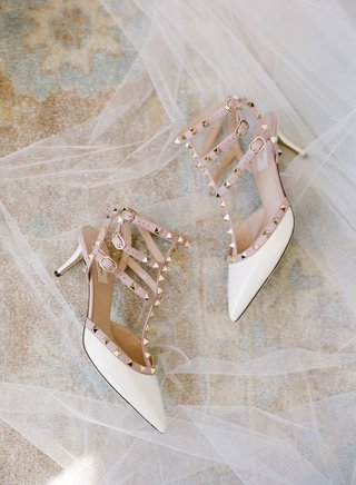 valentino-pyramid-stud-strap-low-heels-white-blush-gold-metallic