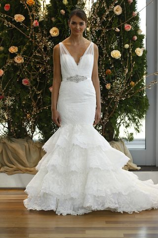 strap-wedding-dress-with-ruffle-mermaid-skirt-by-isabelle-armstrong