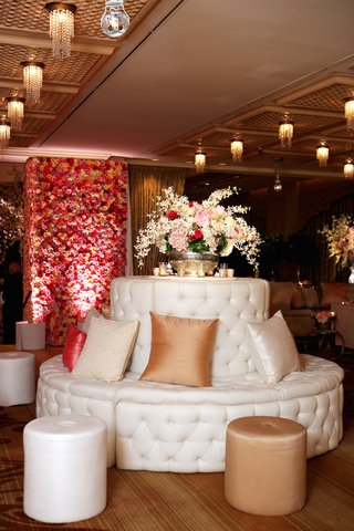 white-tufted-round-banquette-with-pillows