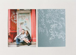 nicole-and-matt-wedding-save-the-date-in-front-of-graffiti-wall-in-brooklyn-new-york