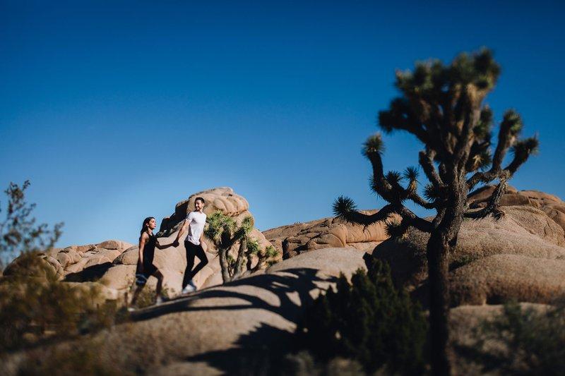Laid-Back Hiking Engagement Photos