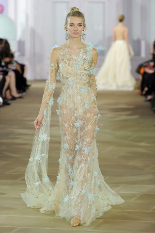 ines-di-santo-lisette-fall-2017-tulle-chantilly-lace-sheath-illusion-boat-neck-aqua-flowers-bronze