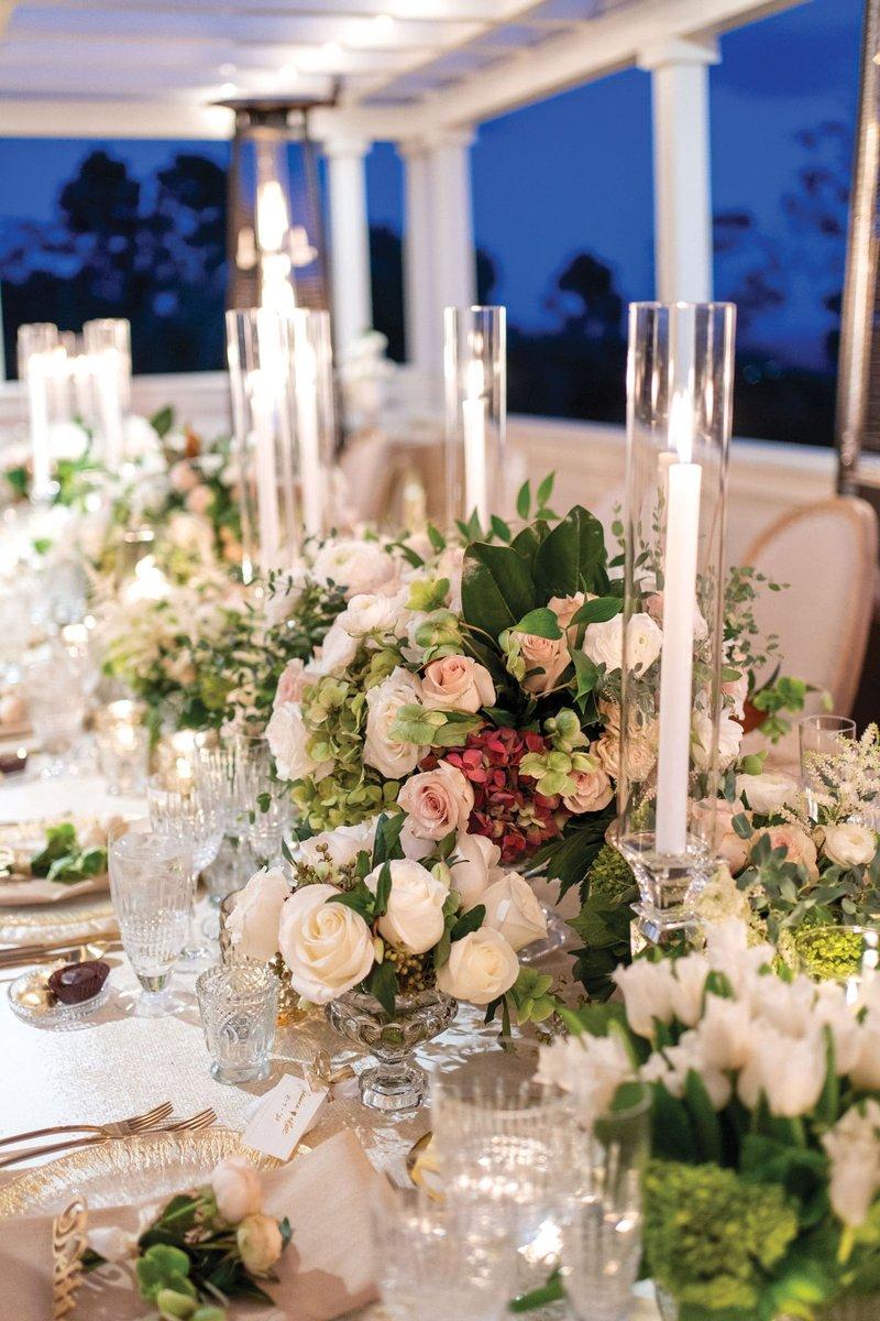 Micro-Wedding Tablescape in Santa Barbara