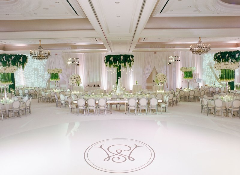 Luxury Wedding Monogram Ideas - Dance Floor