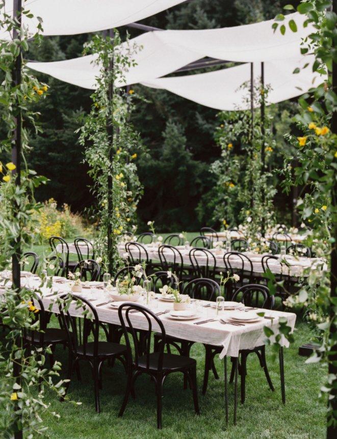 Garden Destination Wedding with Greenery