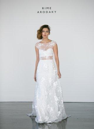 rime-arodaky-fall-2017-bridal-delilah-crop-top-skirt-effect-wedding-dress-flower-embroidery-sheer