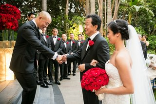 groom-in-giorgio-armani-tuxedo-shakes-hand-of-father-of-the-bride-bride-in-liancarol