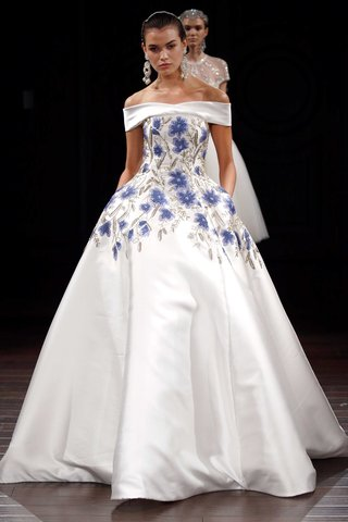naeem-khan-off-the-shoulder-ball-gown-with-blue-flower-print-and-silver-embroidery-pockets-ball-gown