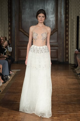 idan-cohen-fall-2017-victoria-a-line-gown-tulle-skirt-sheer-illusion-top-delicate-crystal-beading