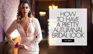 how-to-have-a-pretty-autumnal-bridal-look-wedding-makeup-and-hair-ideas