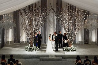 indoor-chicago-wedding-with-tree-branch-ceremony-structure