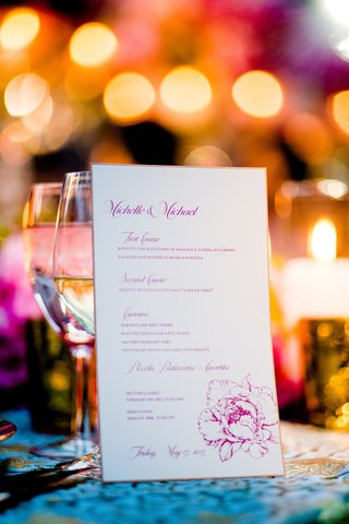 italian-menu-on-white-paper-with-pink-peony