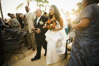 father-of-bride-walks-bride-down-aisle-at-florida-wedding
