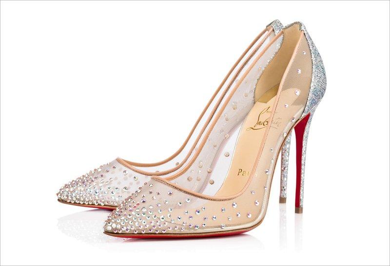 Follies Wedding Shoe by Christian Louboutin