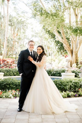 bride-in-long-sleeve-wedding-dress-the-boutique-by-b-belle-events-hindu-and-christian-ceremony