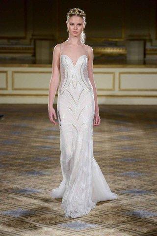 berta-fall-winter-2016-spaghetti-strap-wedding-dress-with-geometric-sparkle