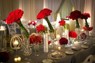 gray-tablescape-contemporary-red-floral-concept-california-wedding-reception-unique-interesting