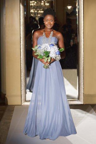 oleg-cassini-davids-bridal-bridesmaid-dress-strapless-long-corset-bodice-mesh-skirt