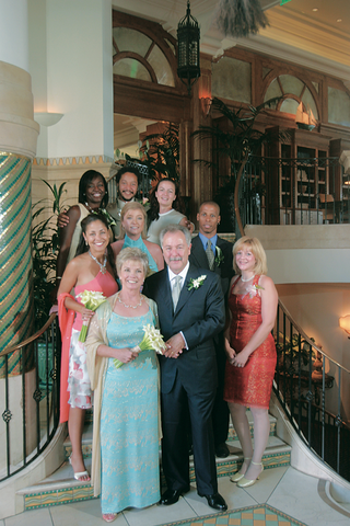 bride-and-groom-with-guests-at-casa-del-mar-hotel