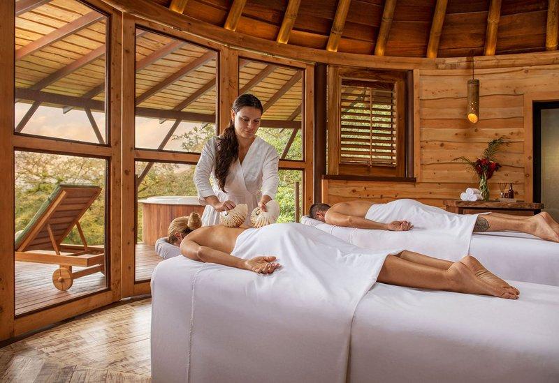 ORIGINS Luxury Lodge - Seashell Couples Massage at Spa