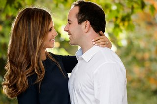 wedding engagement photo jeremy and jenna bauer chicago couple