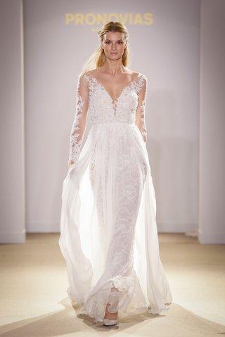 atelier-pronovias-2019-bridal-collection-wedding-dresses-illusion-long-sleeve-bridal-gown