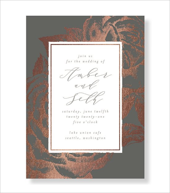 Garden Wedding Invitation by Minted