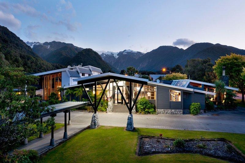 Scenic Hotel Franz Josef Glacier Exterior