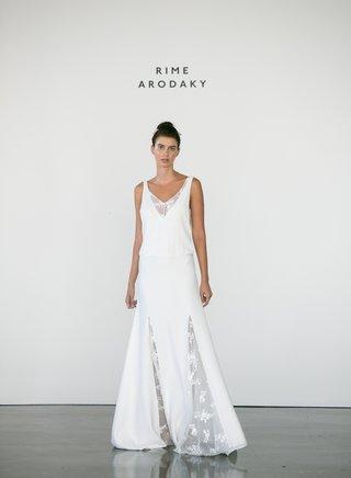 rime-arodaky-fall-2017-bridal-jeisa-v-neck-long-wedding-dress-with-lace-inserts-on-skirt-neckline